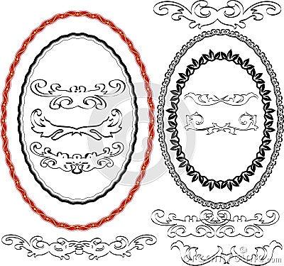 Ovale Ränder