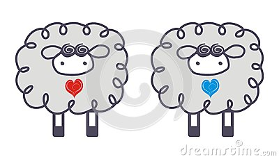 Ovejas en amor