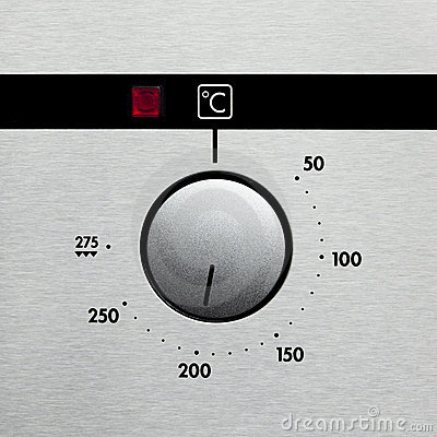 Oven dial