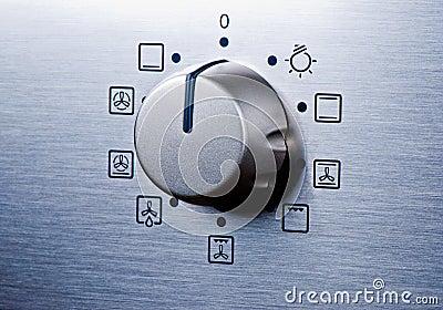 Oven knob