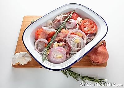 Oven ready kleftiko