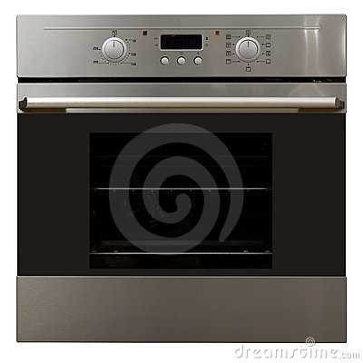 Oven in stainless steel finish