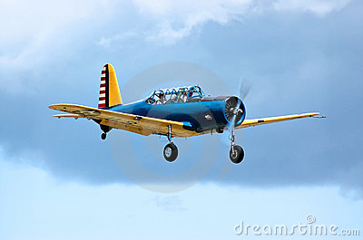 Over the clouds in a Valiant trainer