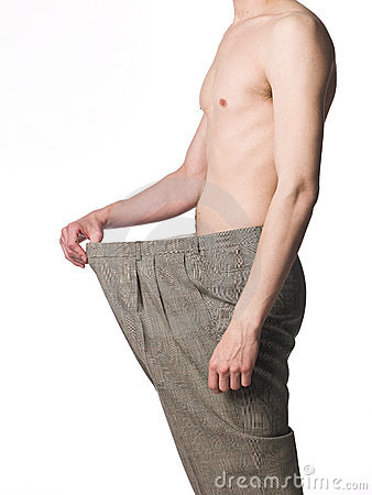 Over-sized trousers