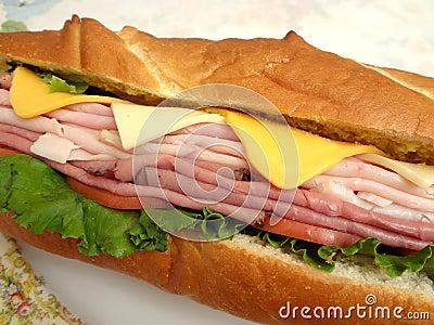 Over Stuffed Sub Sandwich