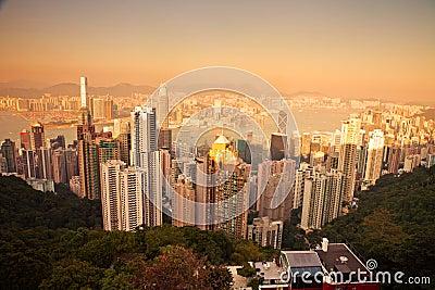 Over view of Hongkong