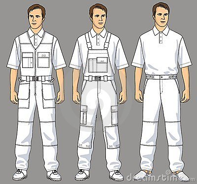 Overalls and trousers
