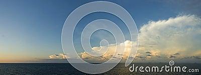 Overcast Sky Meets Clear Sky