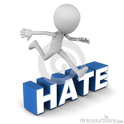 Overcome hate