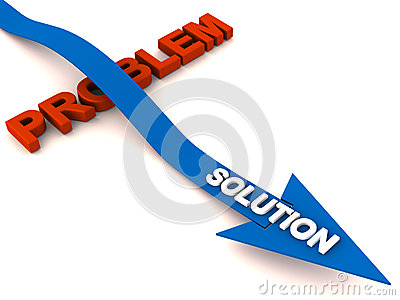 Overcome problem with solution