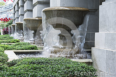 Overflow Fountain