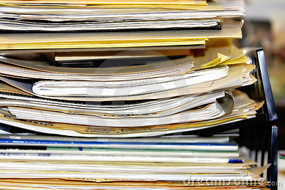 Overflowing Paperwork Pile #2