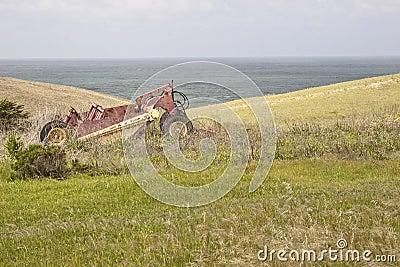 Overgrown Farm & Equipment