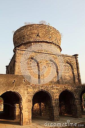 Overgrown Qutb Shahi Tomb, Hyderabad