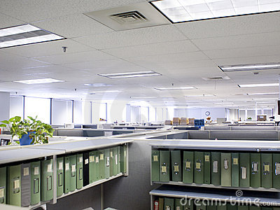 Overhead cubicles