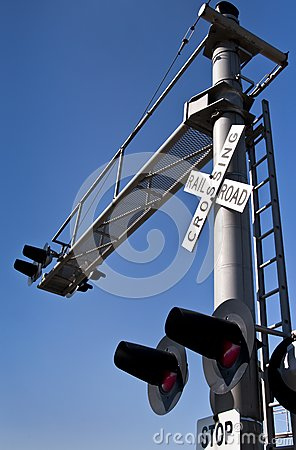 Overhead Railroad Crossing