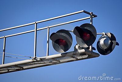 Overhead Railroad Crossing