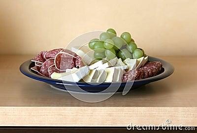 Overlain plate