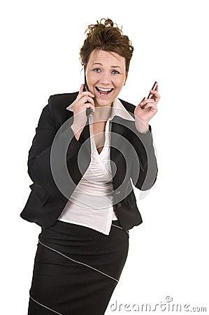 Overloaded businesswomen