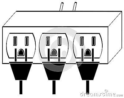 Overloaded power sockets