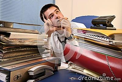 Overloaded worker