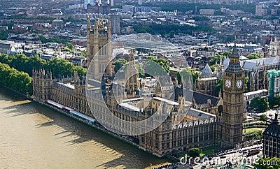 Overlook of Big Ben