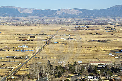 Overlooking the Carson River Valley