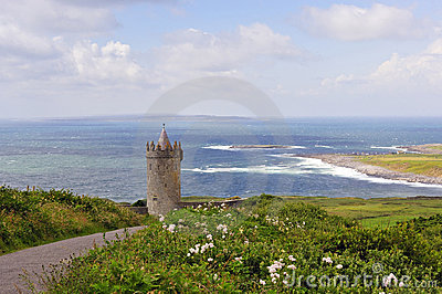 Overlooking Doolin