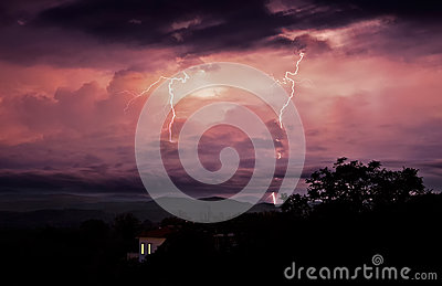 Overnight storms