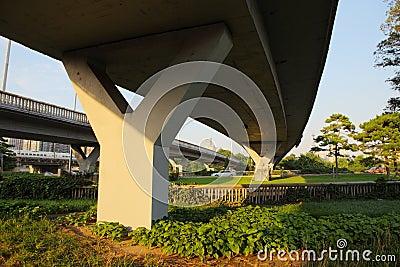 Overpass in beijing