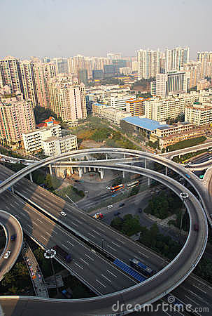 Overpass In Guangzhou City Stock Images - Image: 7817704