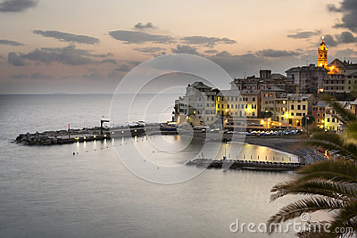 Overview of Bogliasco after