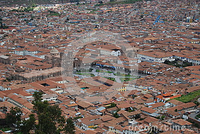 Overview of Cuzco and the Plaza de Armas
