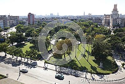 Overview of Havana, Cuba Editorial Photo