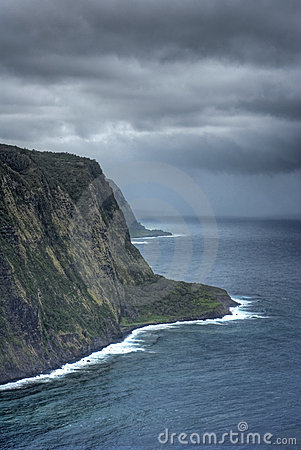 Overview of Hawaiian coastline