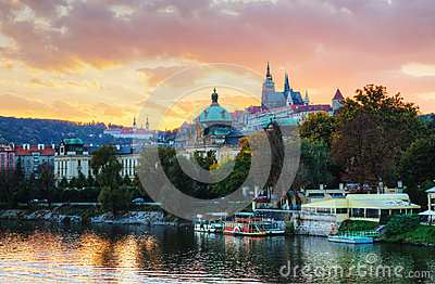 Overview Of Old Prague Royalty Free Stock Images - Image: 28766869