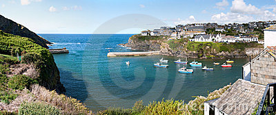 Overview of Port Isaac