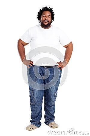 Free Overweight African Man Stock Photos - 17872073
