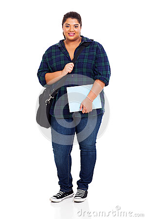 Overweight university student