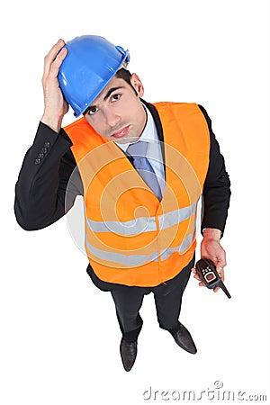 An overwhelmed engineer