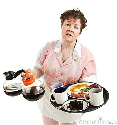Overworked Waitress