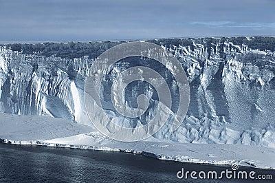 Overzeese van Antarctica Weddell ijsberg