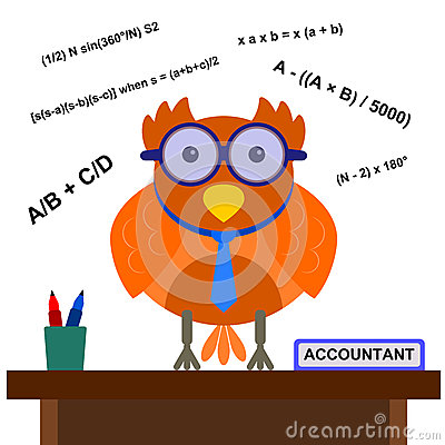 Owl the accountant