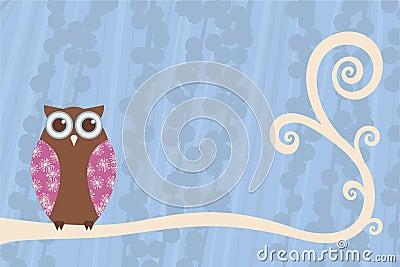 Owl Branch Scene