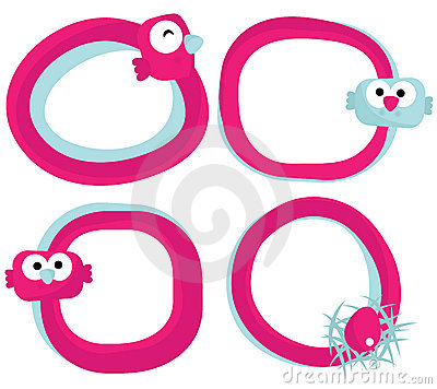 Free Owl Frames, Vector Royalty Free Stock Image - 19133726