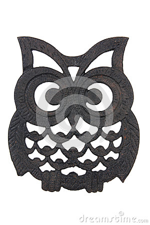 Owl Iron Rest