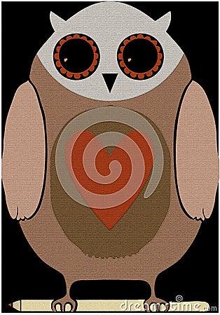 Owl mat