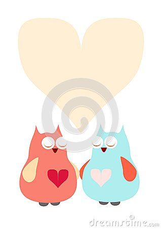 Owls with heart