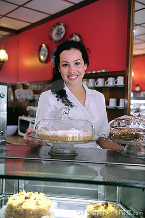 Owner of a cake store/ cafe