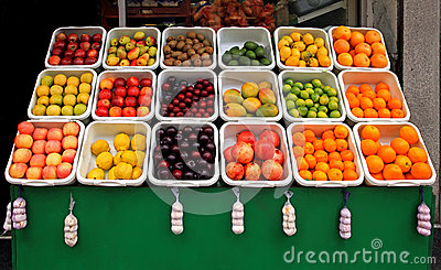 Owoc stojak